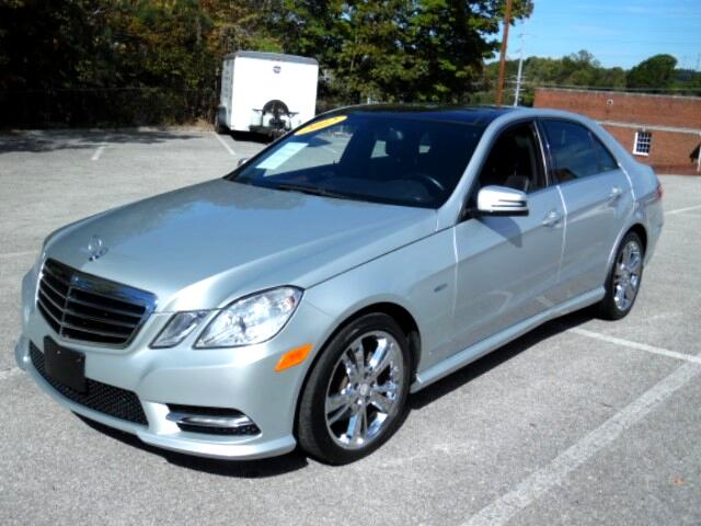 2012 Mercedes-Benz E-Class E350 Sedan