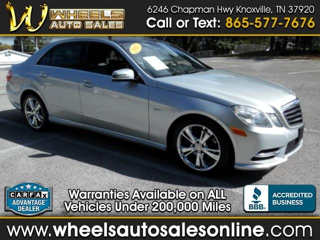 2012 Mercedes-Benz E-Class 4dr Sdn E 350 Luxury BlueTEC RWD