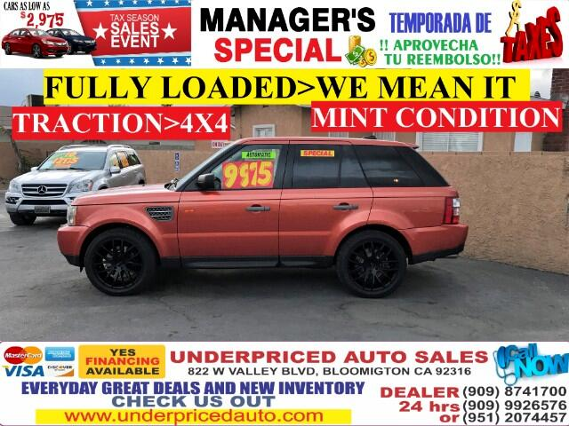 2006 Land Rover Range Rover Sport SUPERCHARGED>>>4X4 MUST DRIVE IN EXCELLENT CONDITI