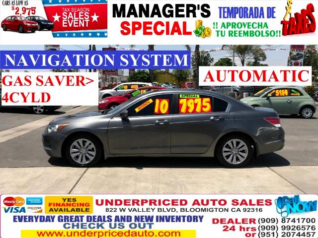 2010 Honda Accord EX-L WITH NAVIGATION+ BLUETOOTH==THIS IS THE ONE>>