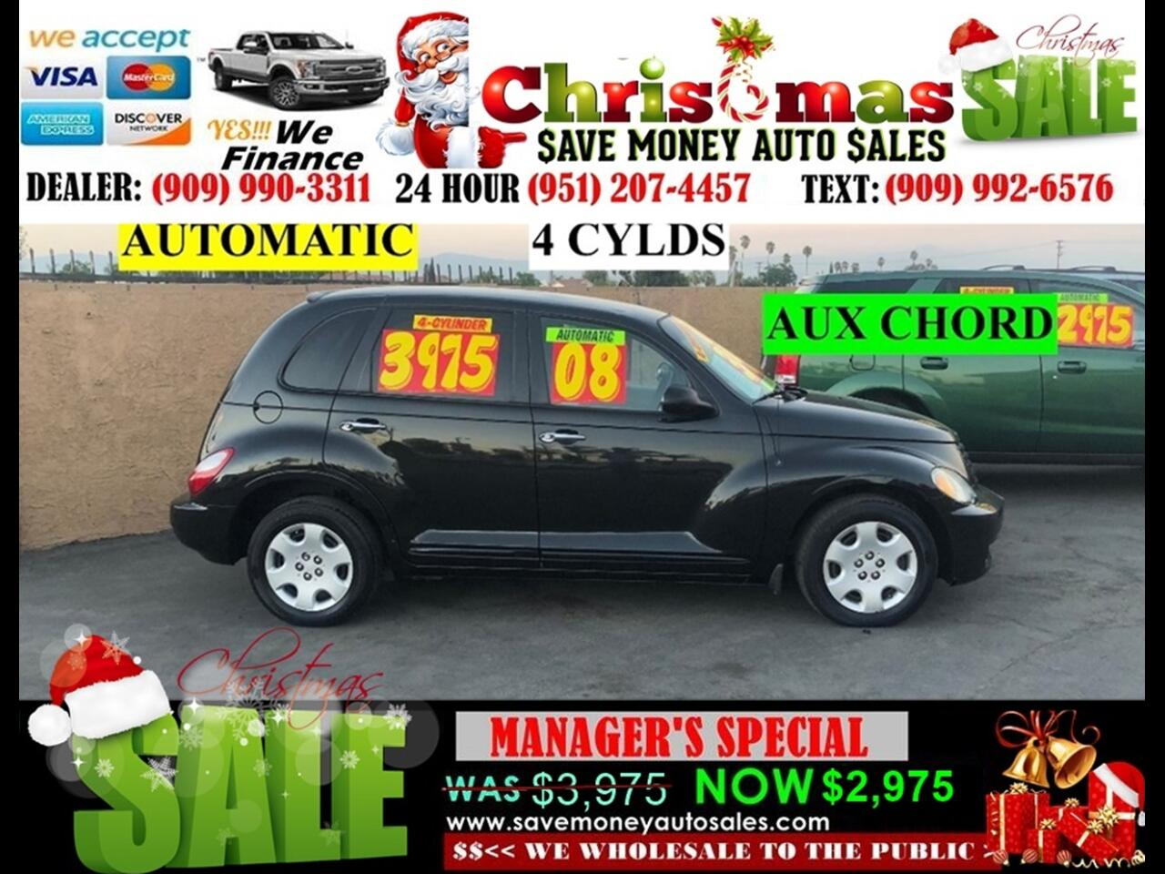 2008 Chrysler PT Cruiser 4 CYLDS,AUTO,AC AND PRIVACY GLASS>>GREAT BUY