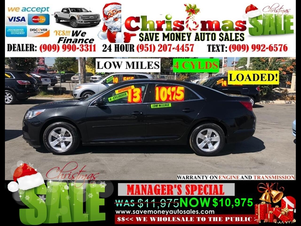 2013 Chevrolet Malibu LS>BLUETOOTH,4 CYLINDERS AND MORE!!!!
