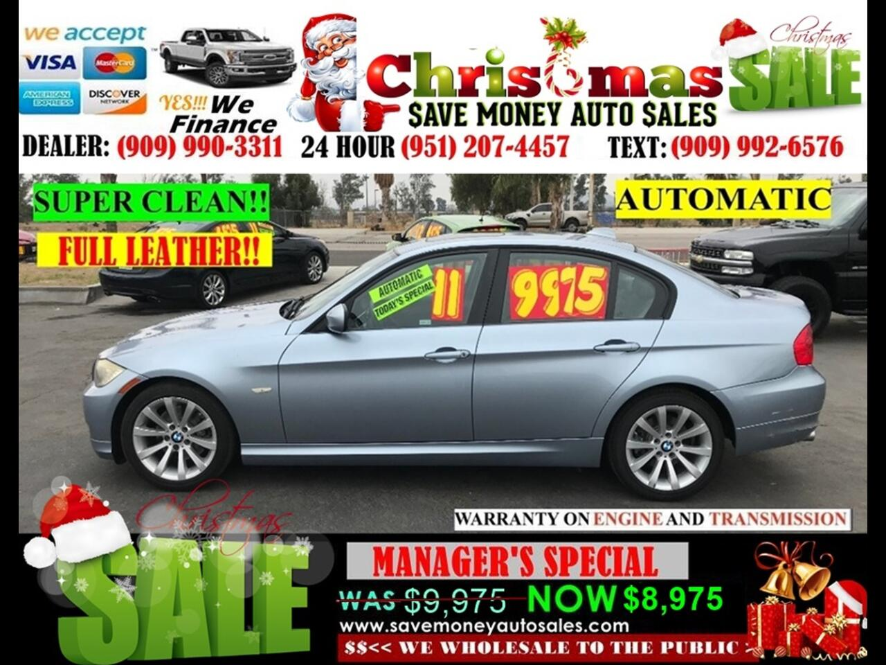 2011 BMW 3-Series 328I >6 CYLDS > FULL LEATHER > VERY CLEAN