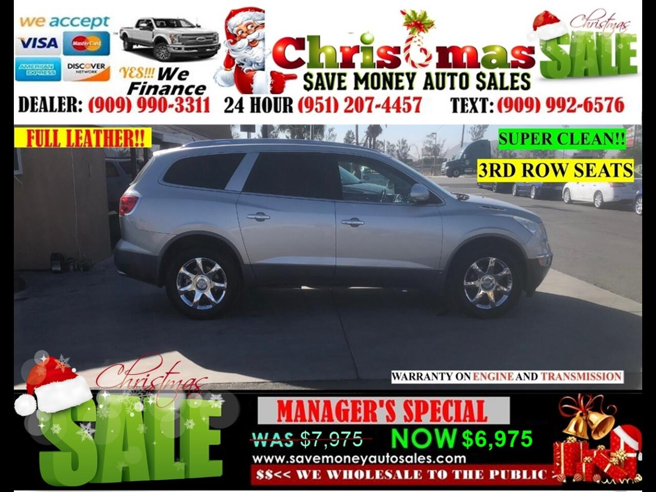 2008 Buick Enclave CXL>6 CYLDS, 3RD ROW SEATS!