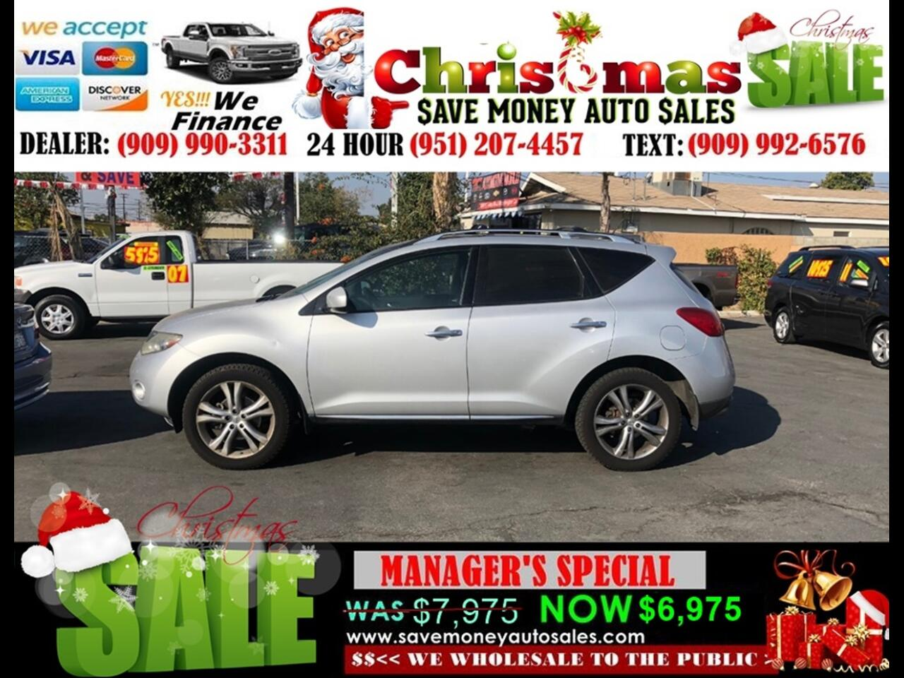 2009 Nissan Murano LE>AWD, FULLY LOADED MUST SEE!!!
