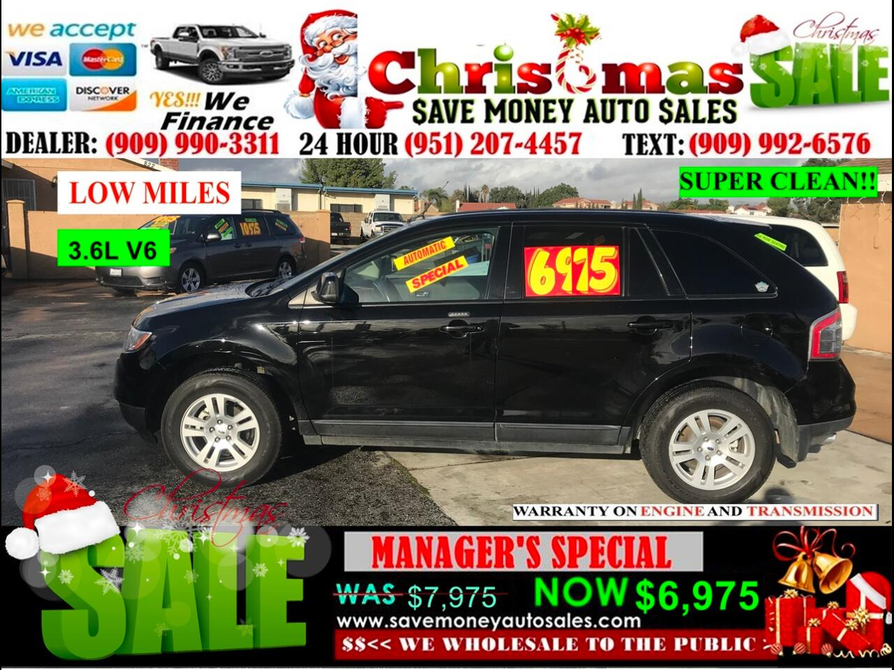 2008 Ford Edge SEL FWD>>BLUETOOTH AND MORE.....