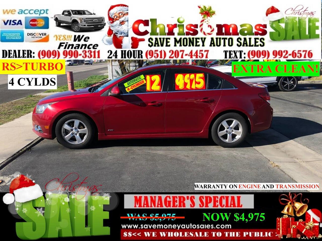 2012 Chevrolet Cruze 1LT TURBO