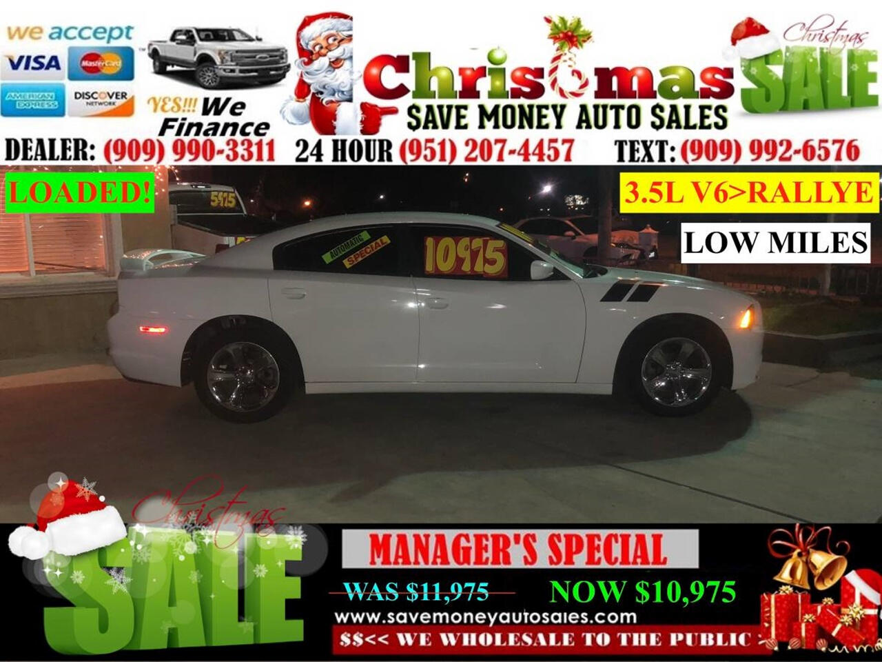 2011 Dodge Charger SE > VERY CLEAN > FULL LEATHER > LOW MILES