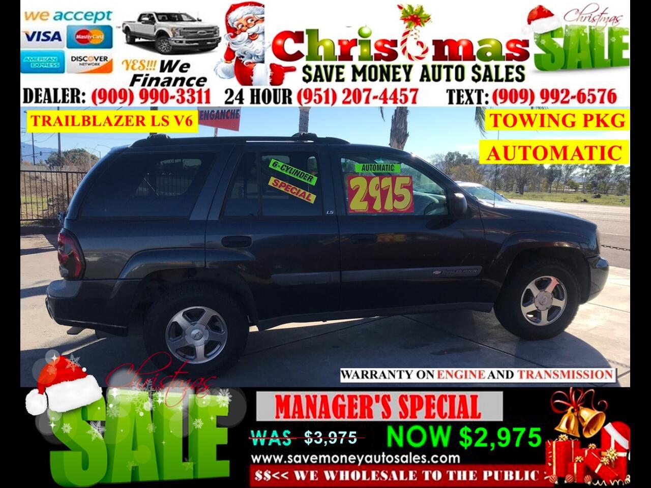 2004 Chevrolet TrailBlazer LS 2WD > TOWING PKG > SUPER CLEAN