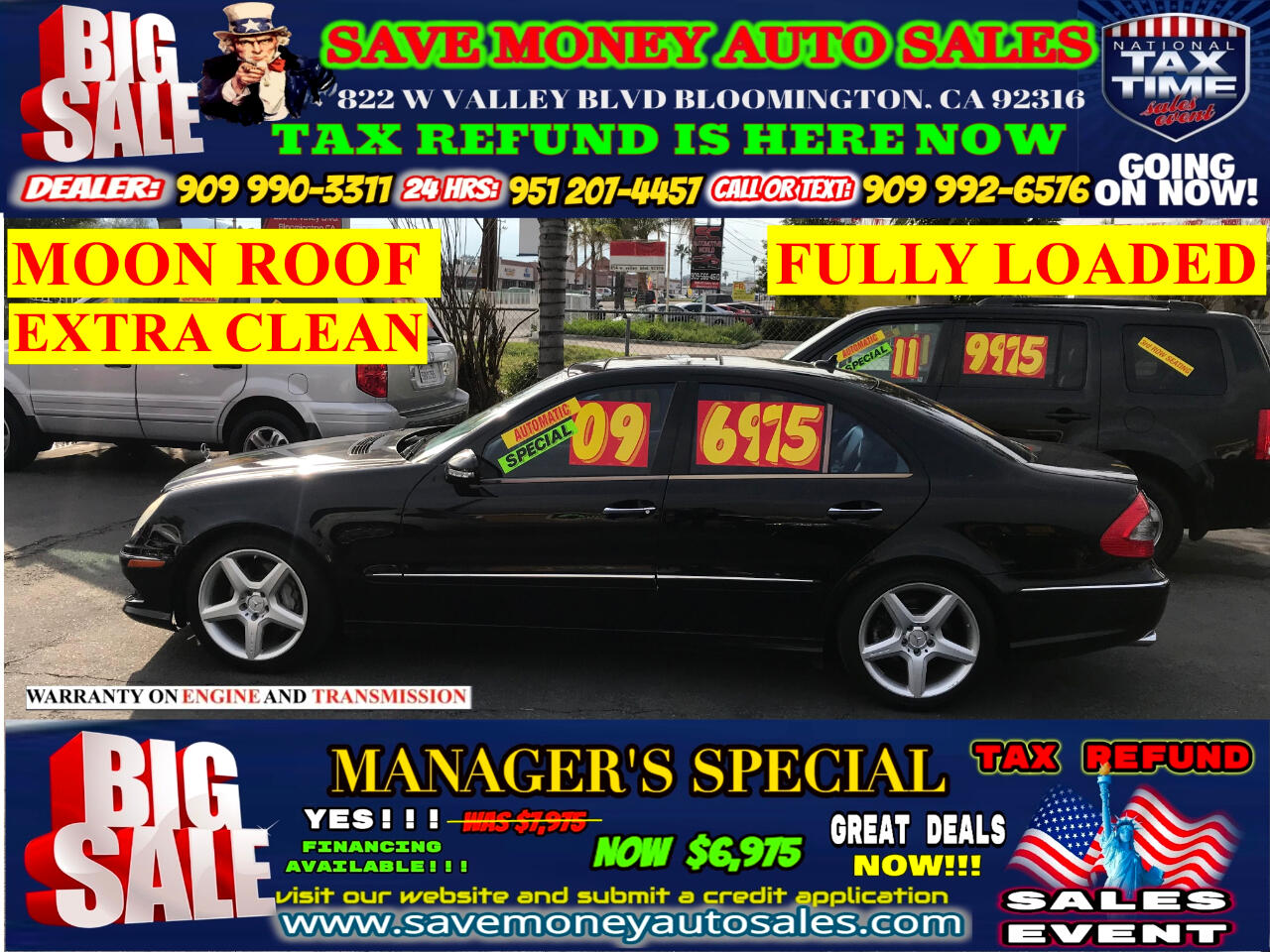2009 Mercedes-Benz E-Class E350 LUXURY> FULLY LOADED> EXTRA CLEAN> MOON ROOF
