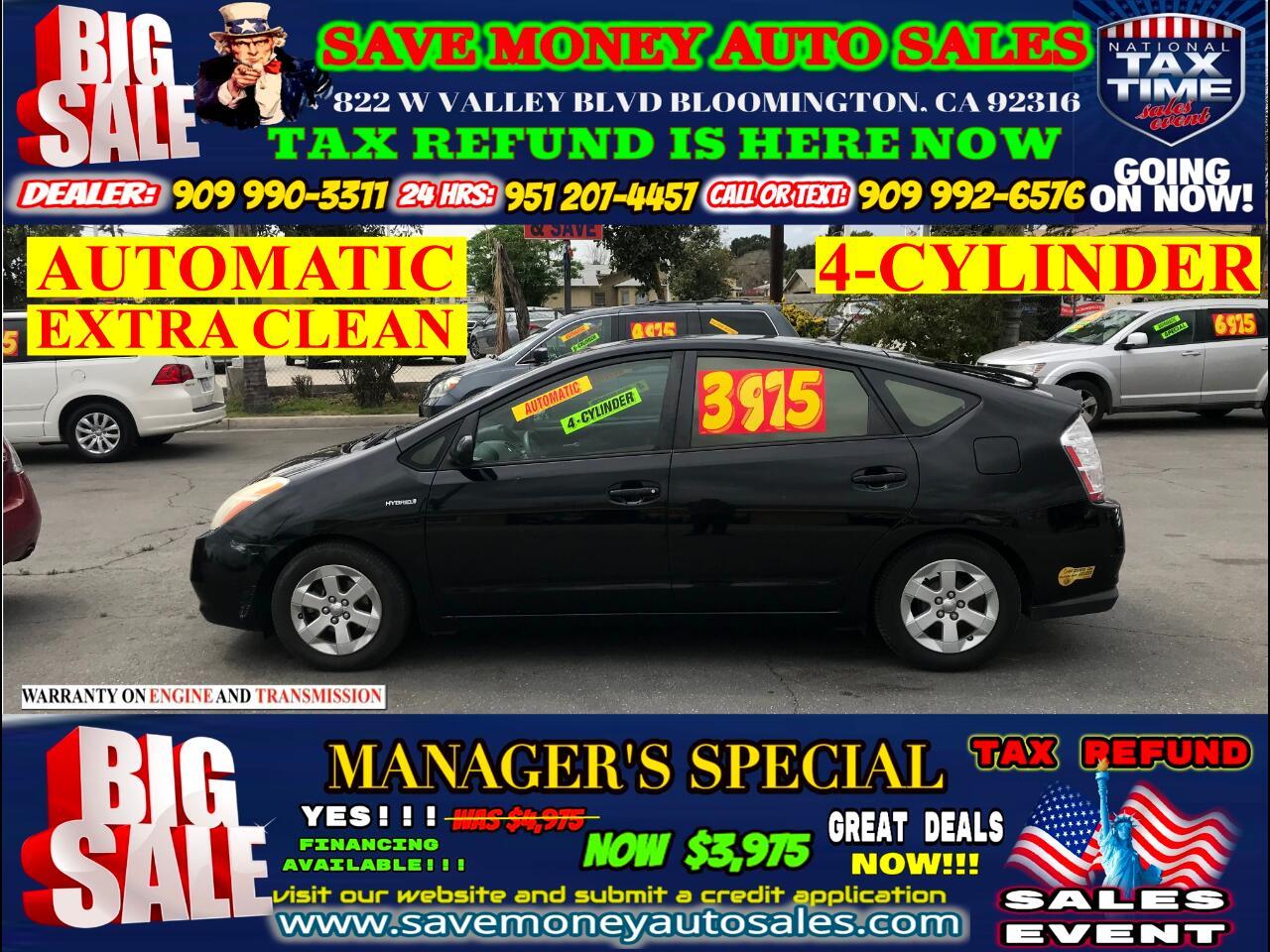 2006 Toyota Prius 4 DOOR LIFTBACK>4 CYLINDERS>BLUETOOTH>EXTRA CLEAN!