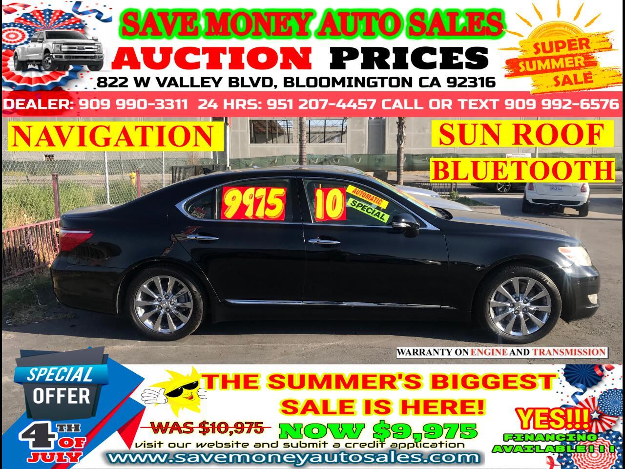 2010 Lexus LS 460 LUXURY>ECO MODE>NAVIGATION >BLUETOOTH>BACK UP CAME