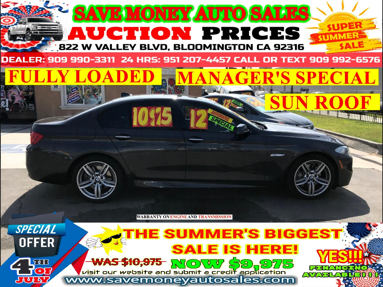 2012 BMW 5-Series 550i> FULLY LOADED> EXTRA CLEAN> NAVIGATION SYSTEM