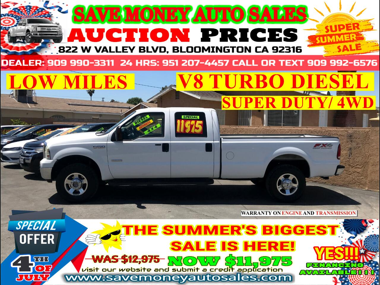 2005 Ford F-250 SD SUPER DUTY> EXTRA CLEAN> LOW MILES> TOWING PKG