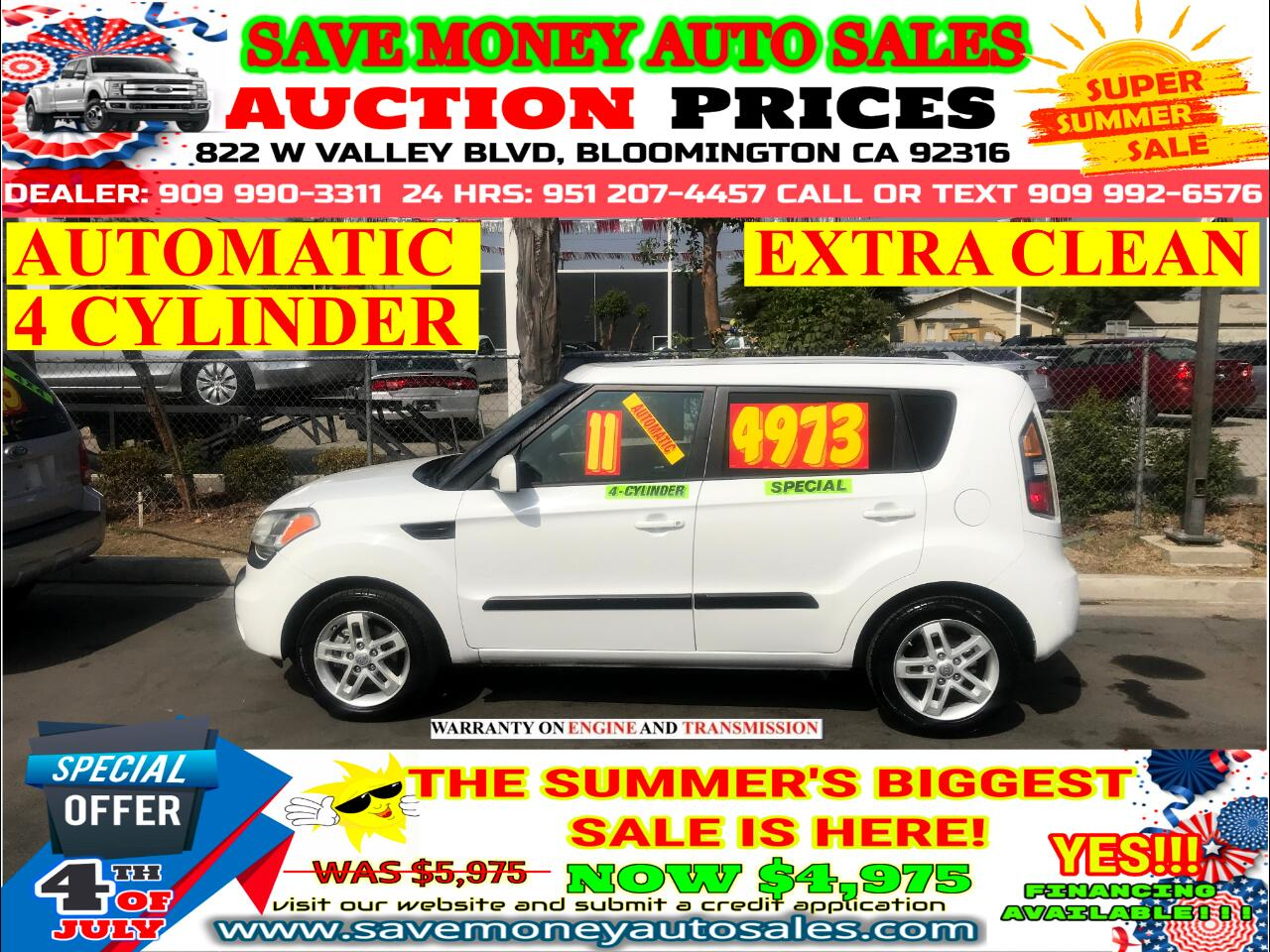 2011 Kia Soul 4 CYLINDER> AUTOMATIC> EXTRA CLEAN