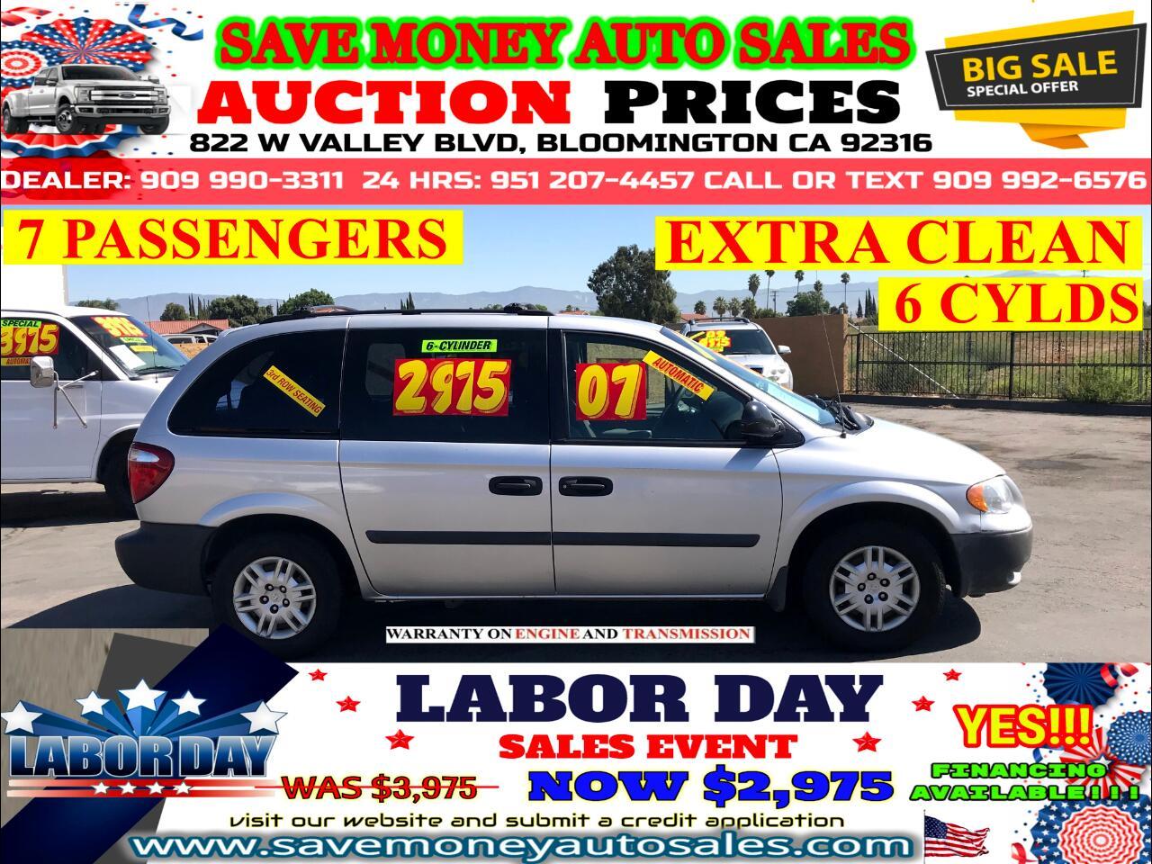 2007 Dodge Caravan 7 PASSENGERS> EXTRA CLEAN> 6 CYLDS