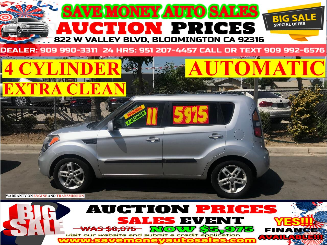 2011 Kia Soul 4 CYLINDER> EXTRA CLEAN> AUTOMATIC