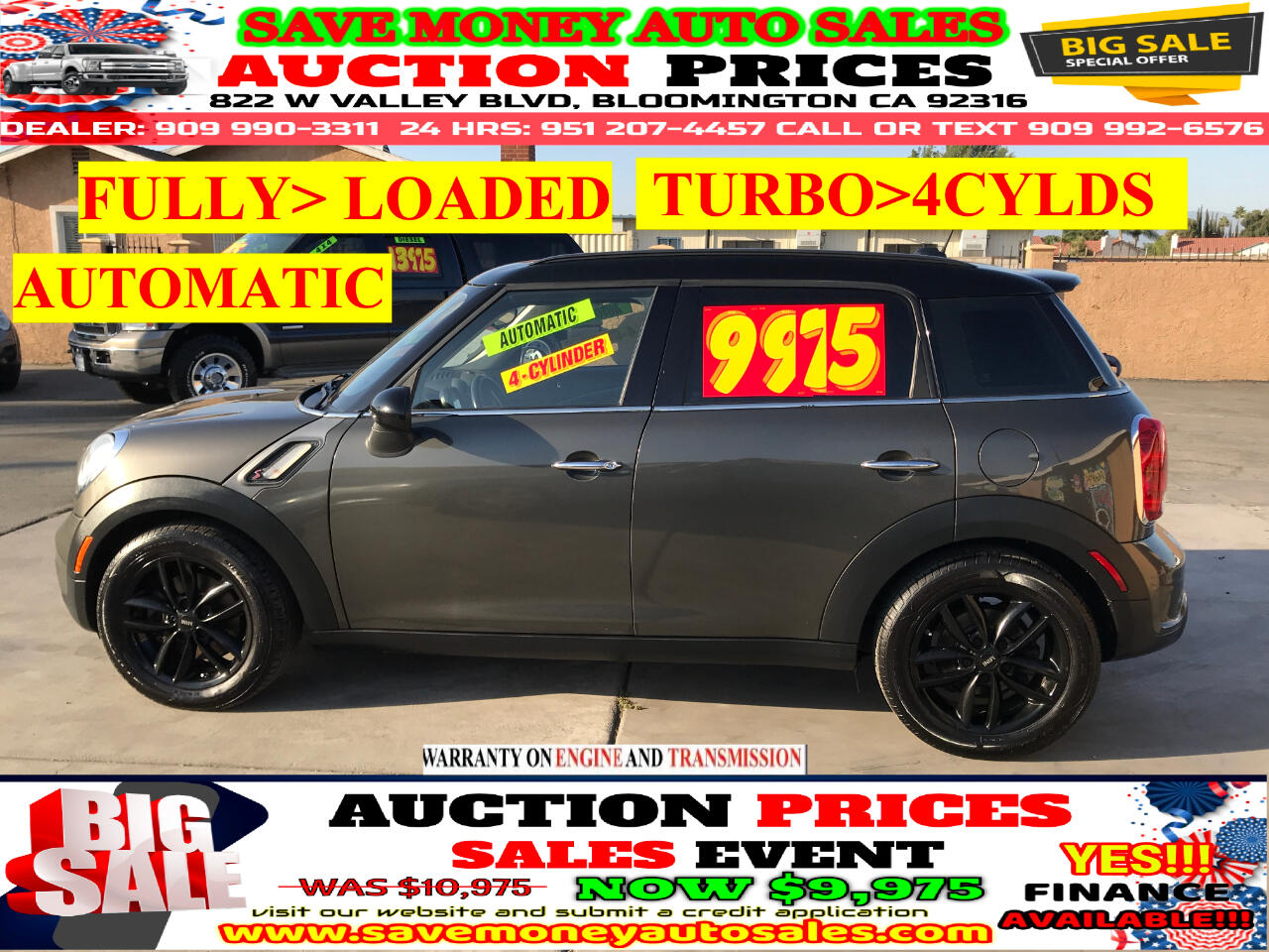2011 MINI Countryman S TYPE>4CYLDS>BLUETOOTH>FULLY LOADED!!!