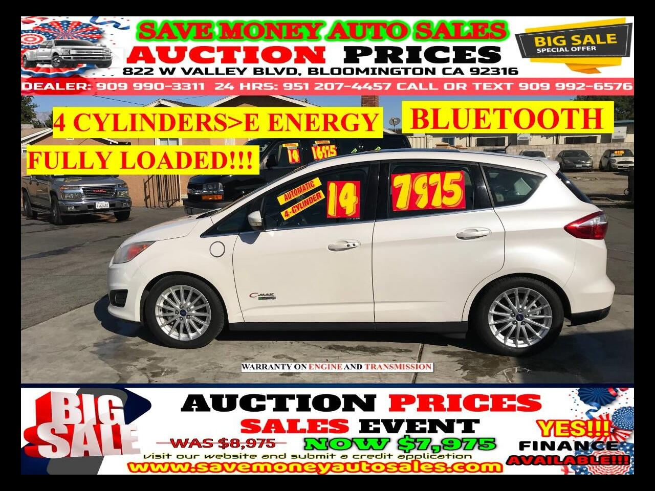 2014 Ford C-Max Energi 4 CYLDS> ENERGY> EXTRA CLEAN> MOON ROOF
