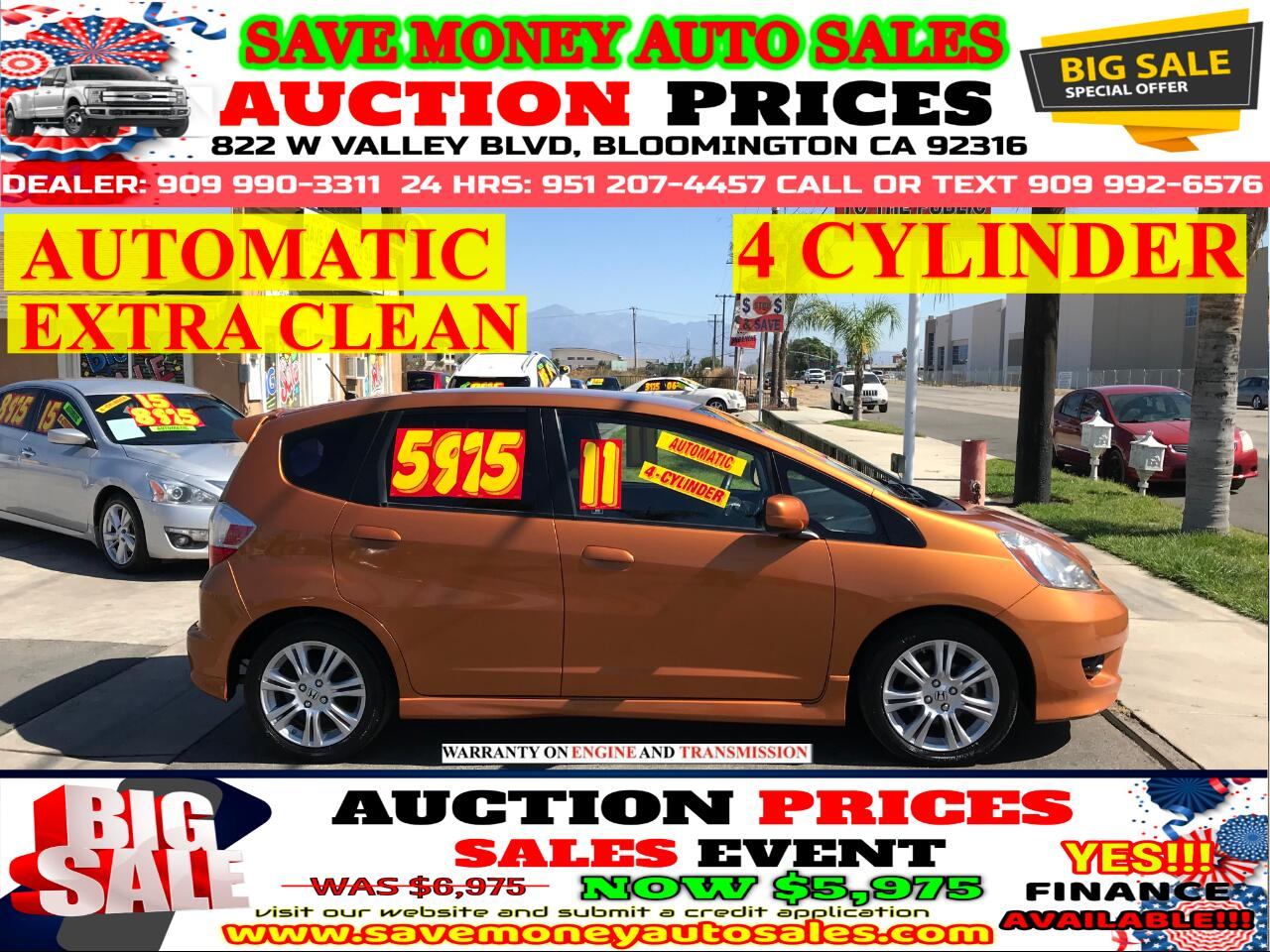 2011 Honda Fit 4 CYLINDER> AUTOMATIC> EXTRA CLEAN