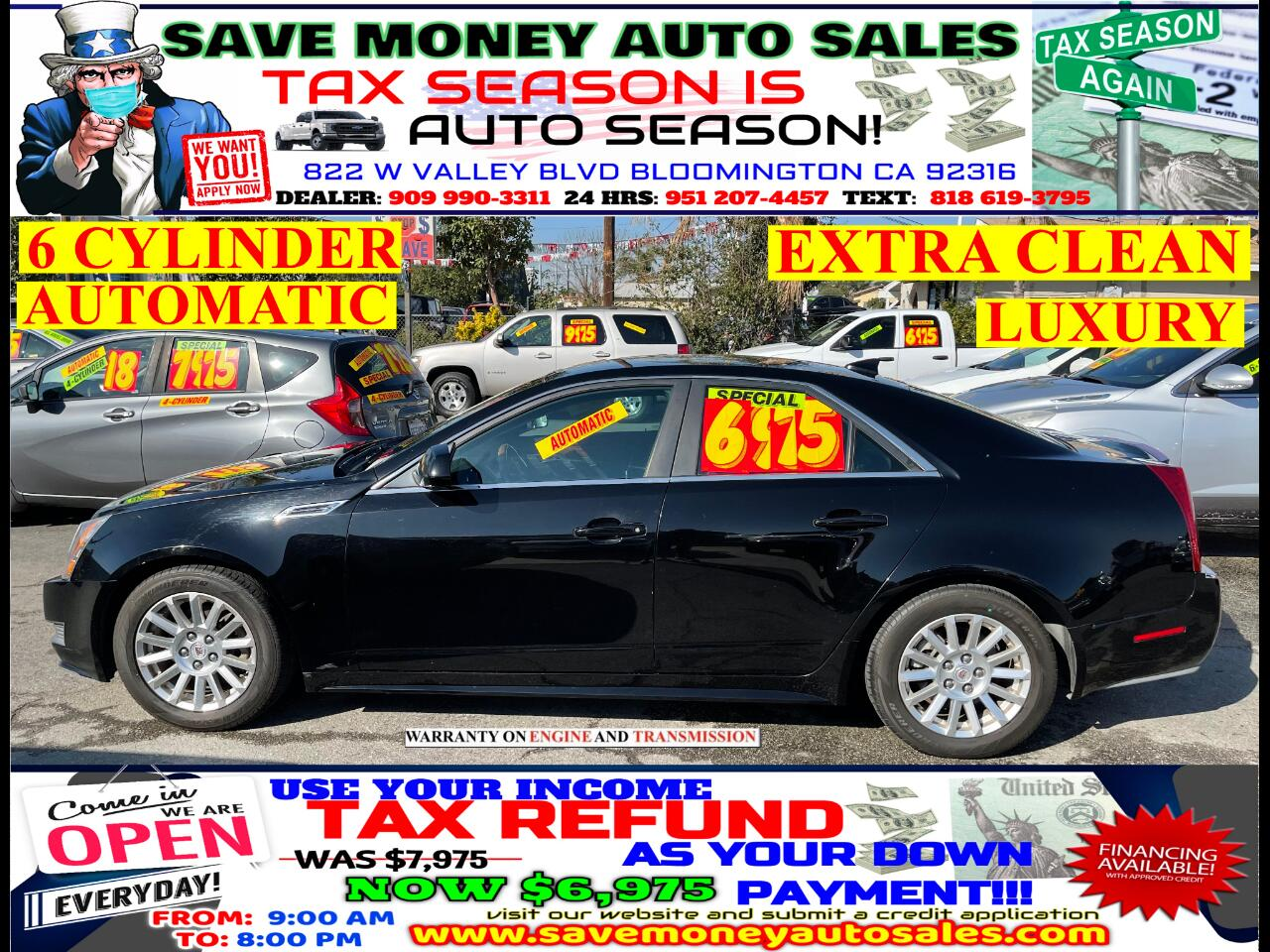 Used Cadillac Cts Sedan Bloomington Ca