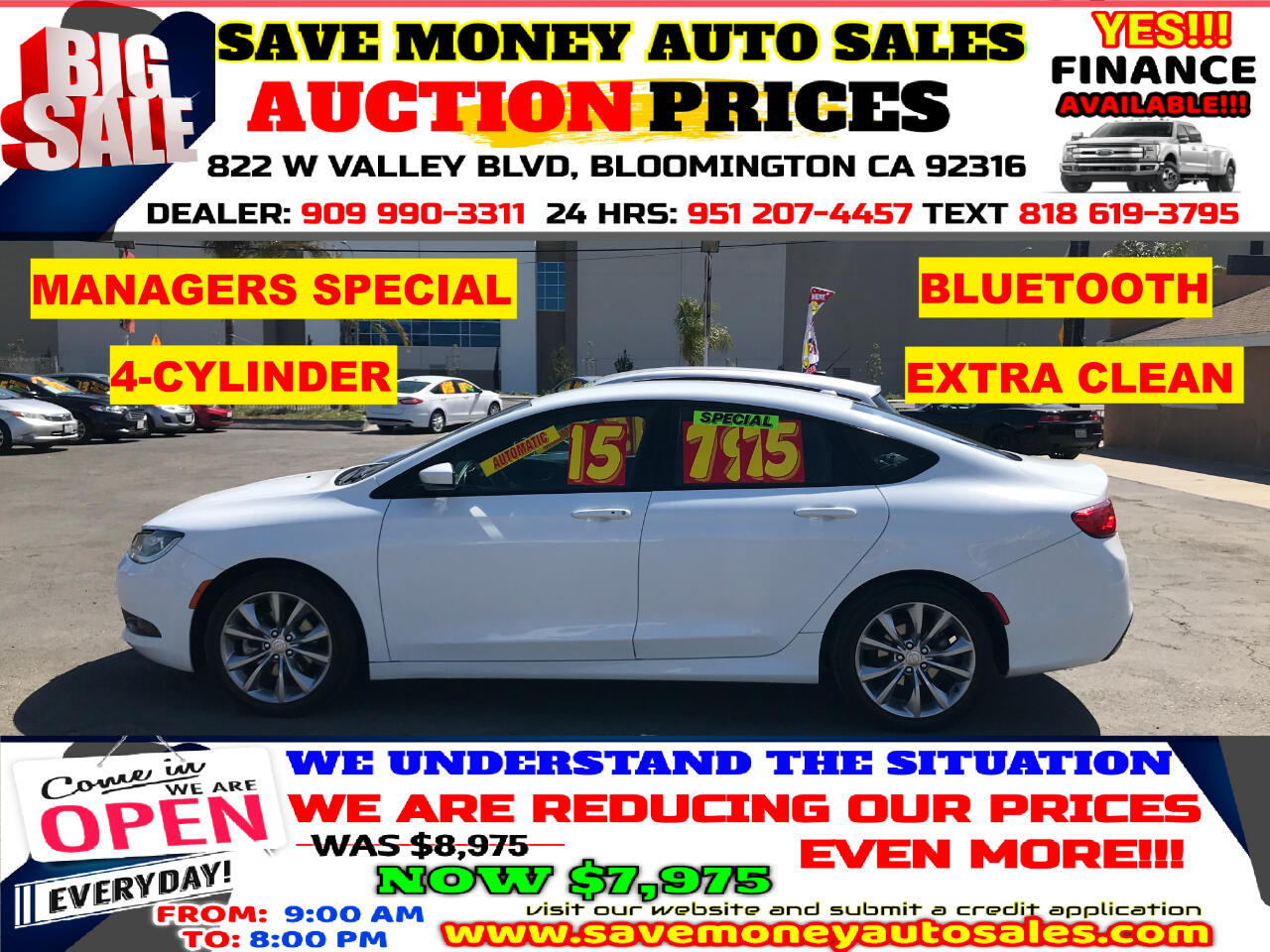 Used Chrysler 200 Bloomington Ca