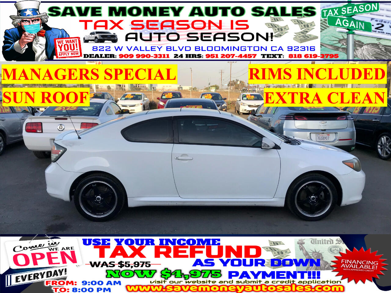 Used Scion T C Bloomington Ca
