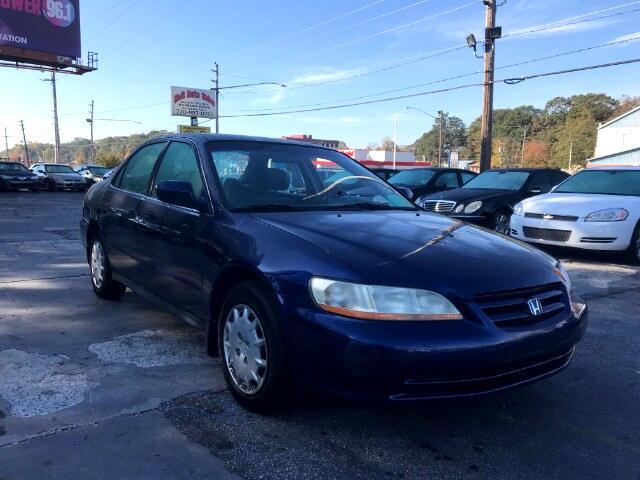 2001 Honda Accord LX sedan