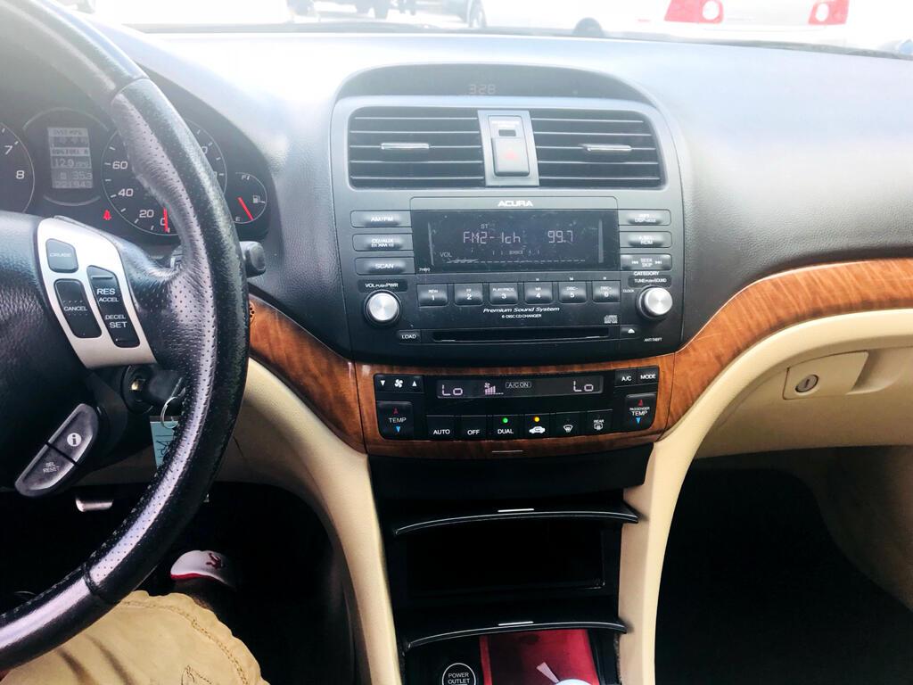 2007 Acura TSX 6-Spd MT