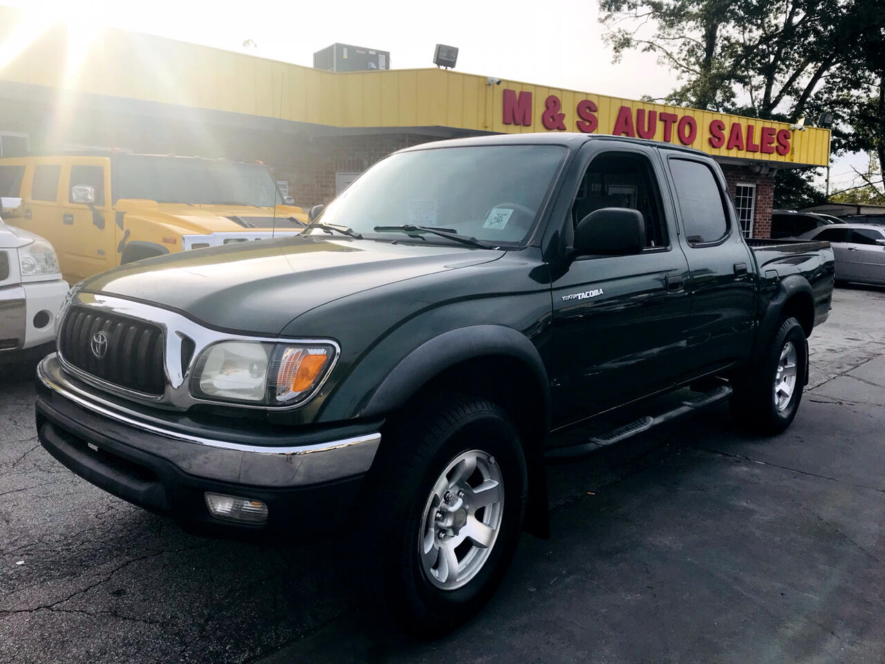 2001 Toyota Tacoma PreRunner Double Cab V6 2WD