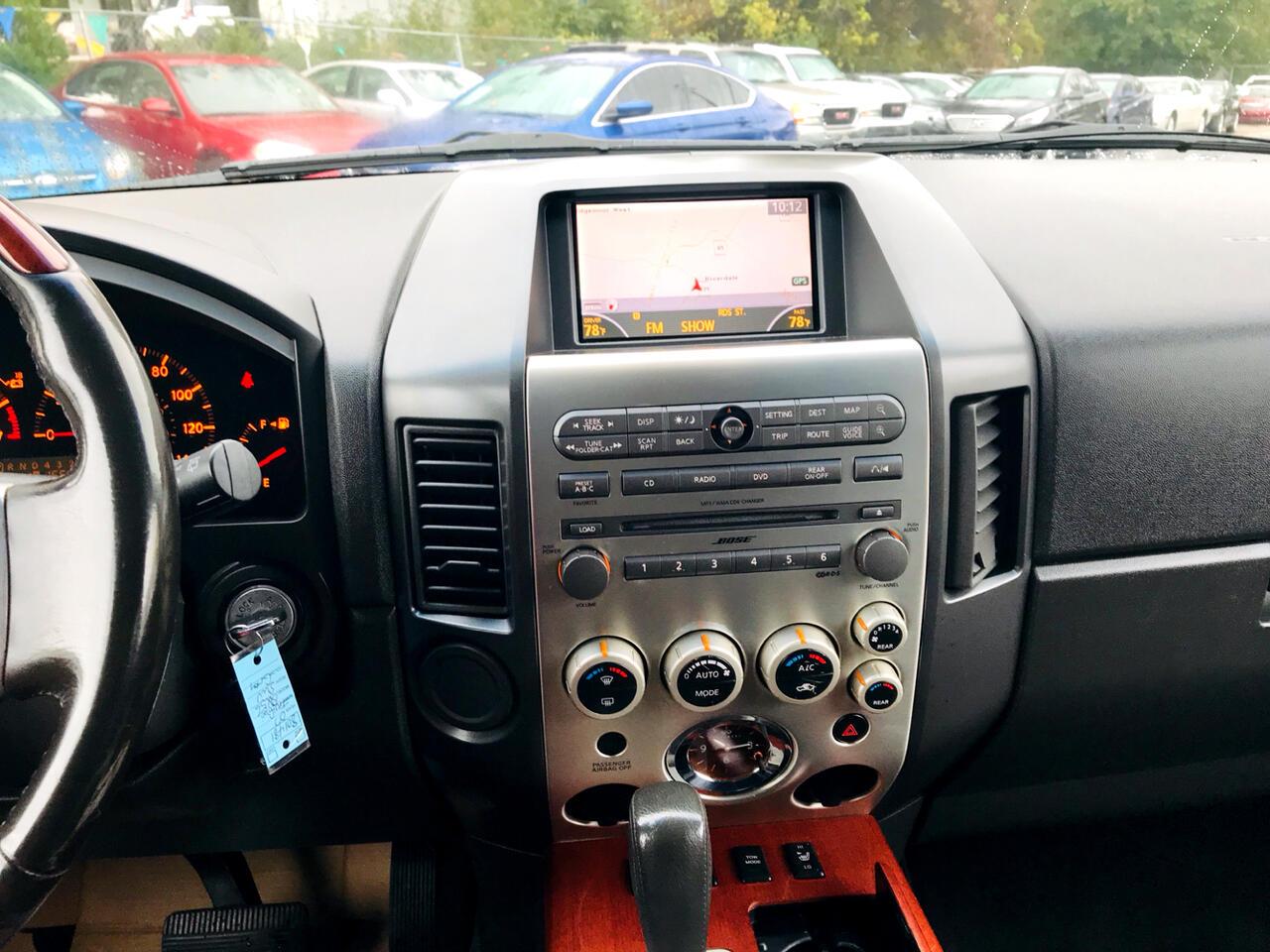 2007 Infiniti QX56 RWD