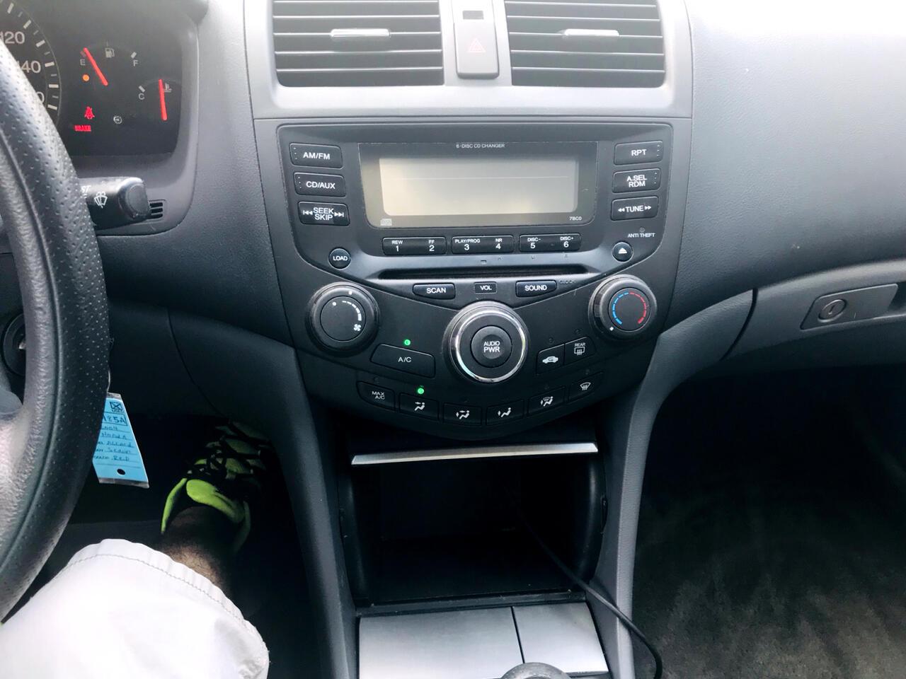 2004 Honda Accord EX-L Sedan with XM Radio
