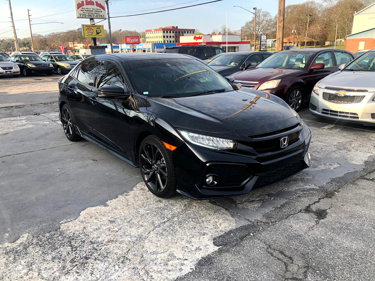 Honda Civic Sport Touring CVT 2017