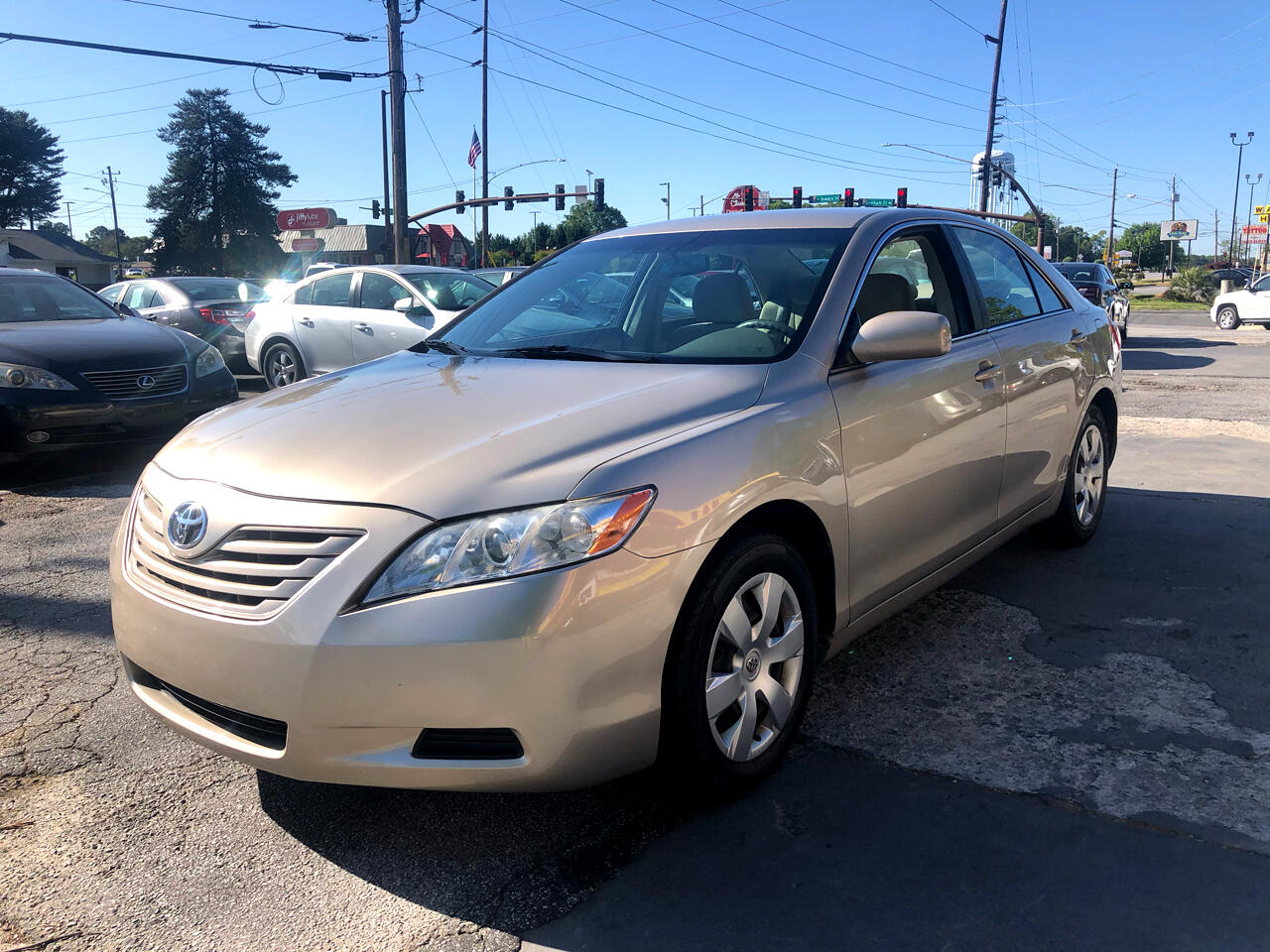 Toyota Camry 4dr Sdn I4 Auto LE (Natl) 2009