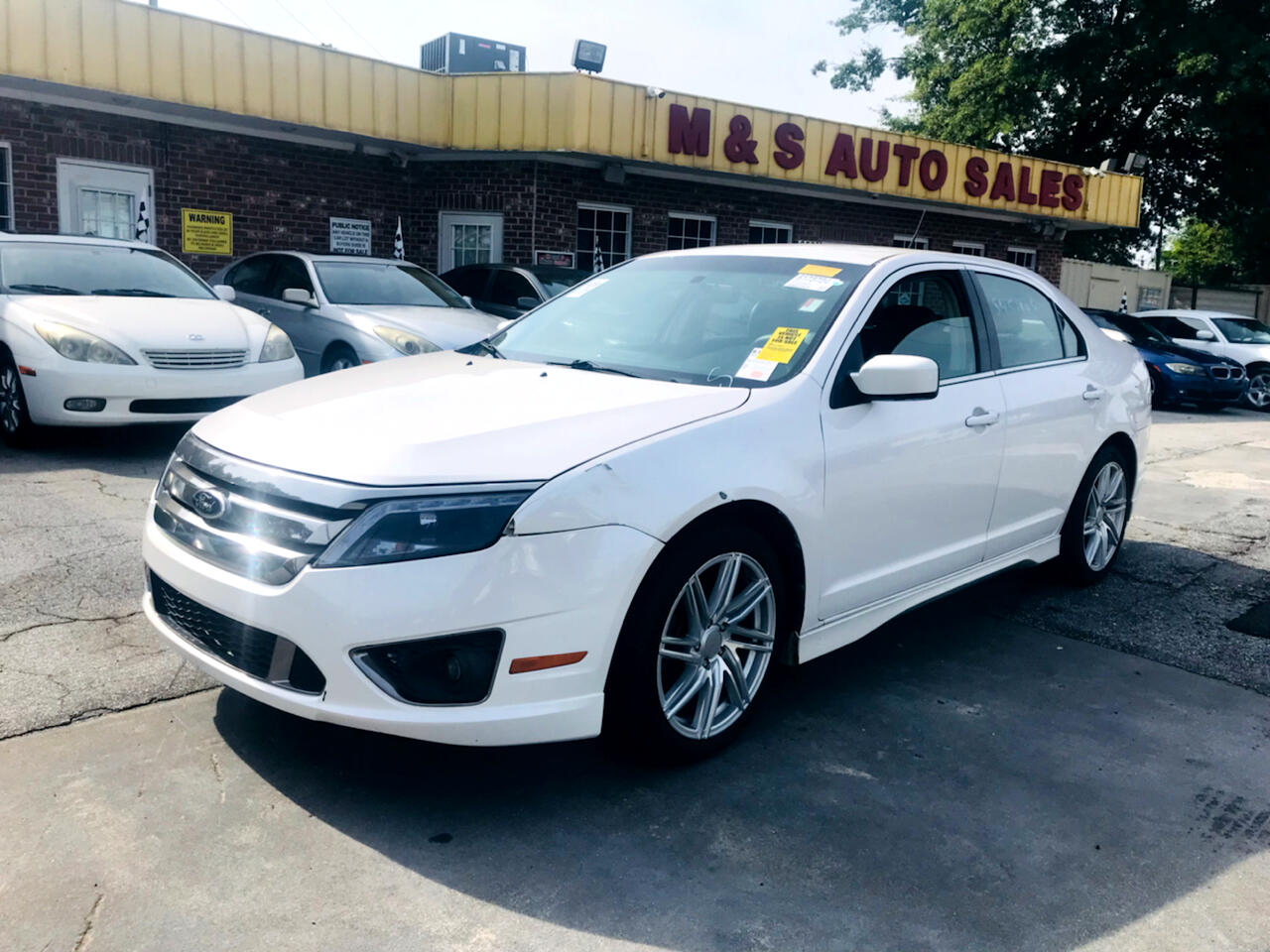 Ford Fusion 4dr Sdn SPORT FWD 2012