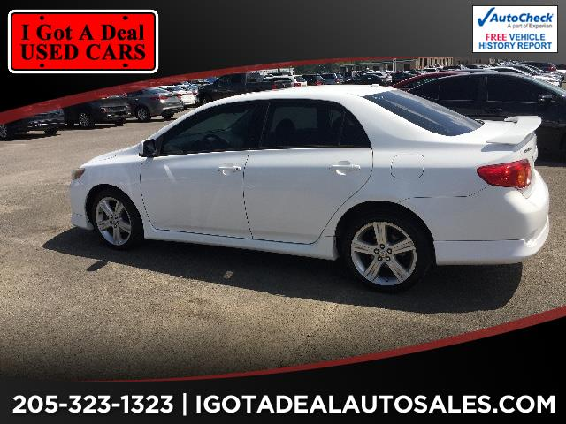 2010 Toyota Corolla XRS 5-Speed AT