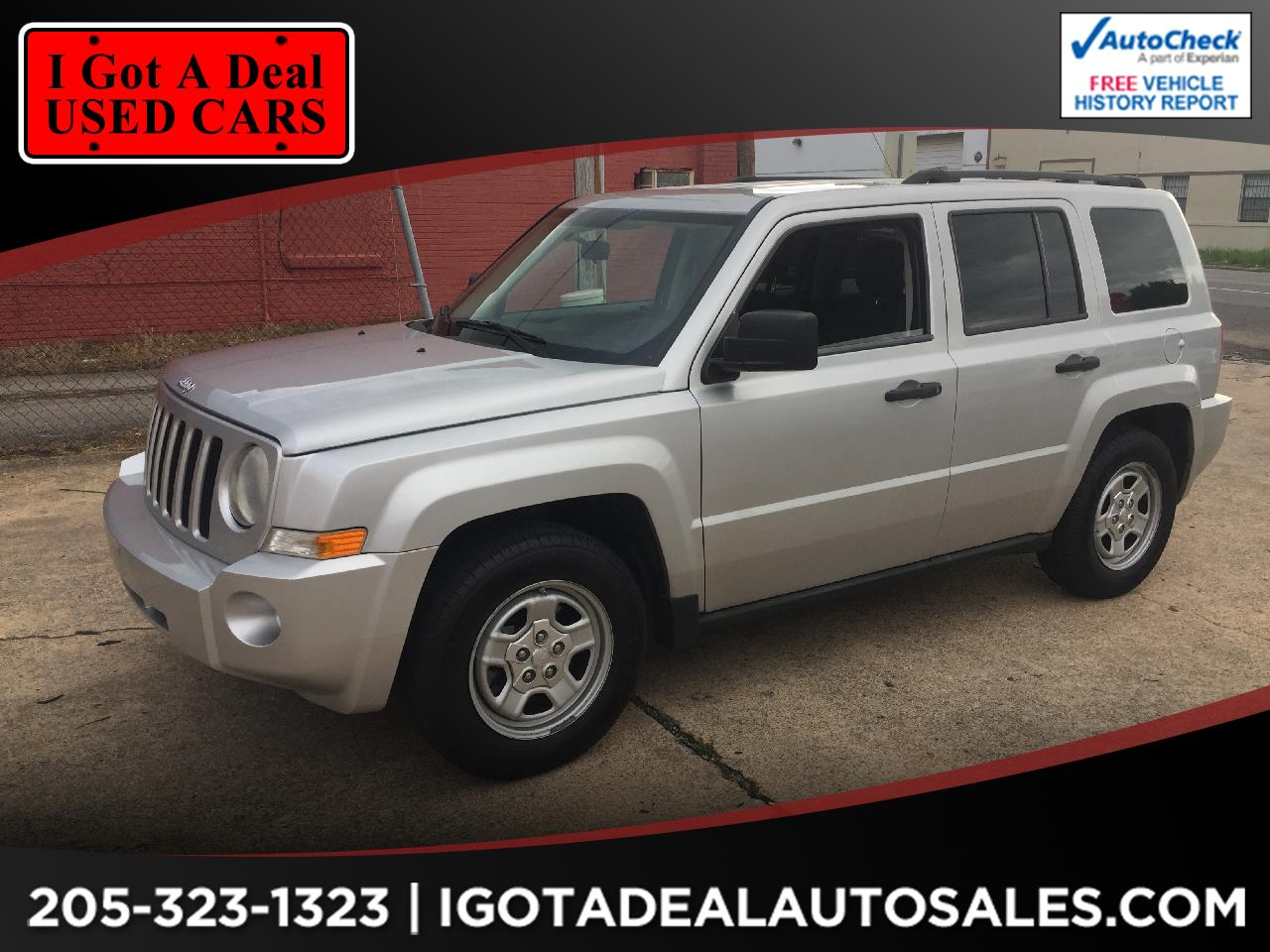 2010 Jeep Patriot FWD 4dr Sport