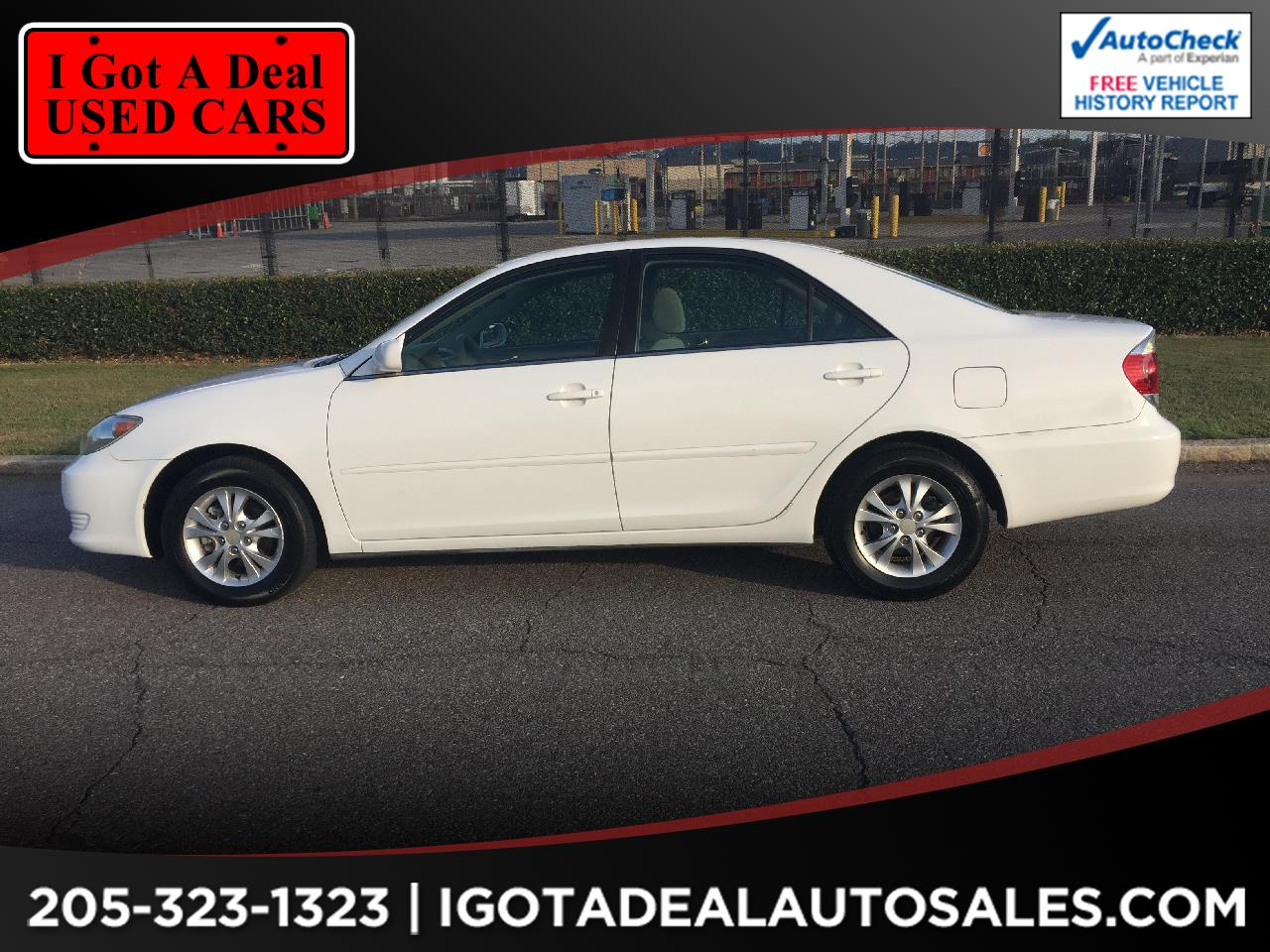 2006 Toyota Camry 4dr Sdn LE V6 Auto (Natl)