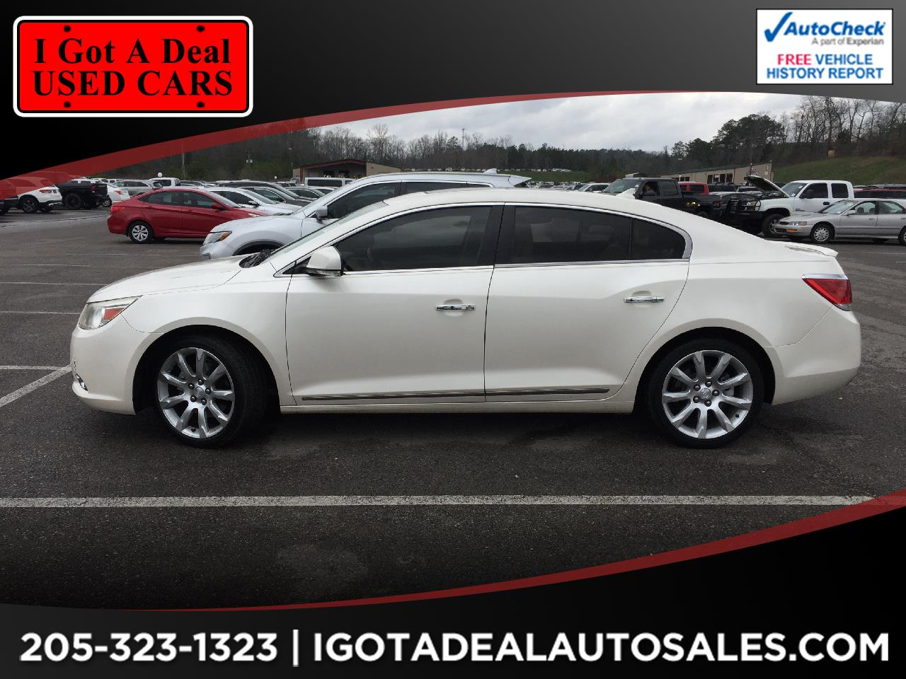 Buick LaCrosse 4dr Sdn Touring FWD 2012