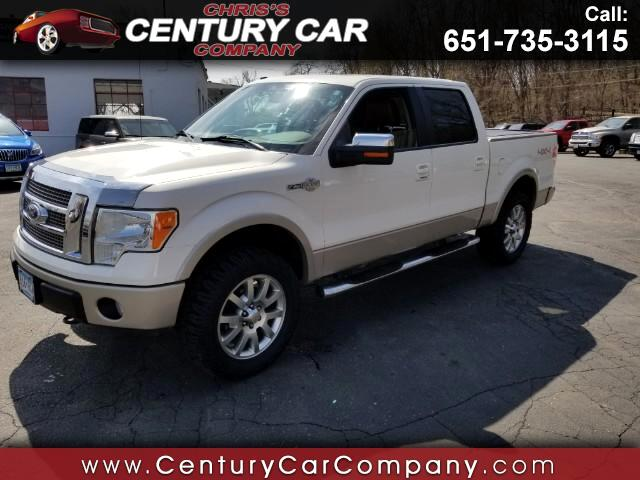 2009 Ford F-150 King Ranch 4WD SuperCrew 5.5' Box