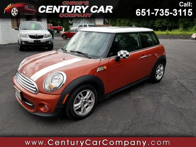 2013 MINI Cooper HARD TOP TWO DOOR COUPE