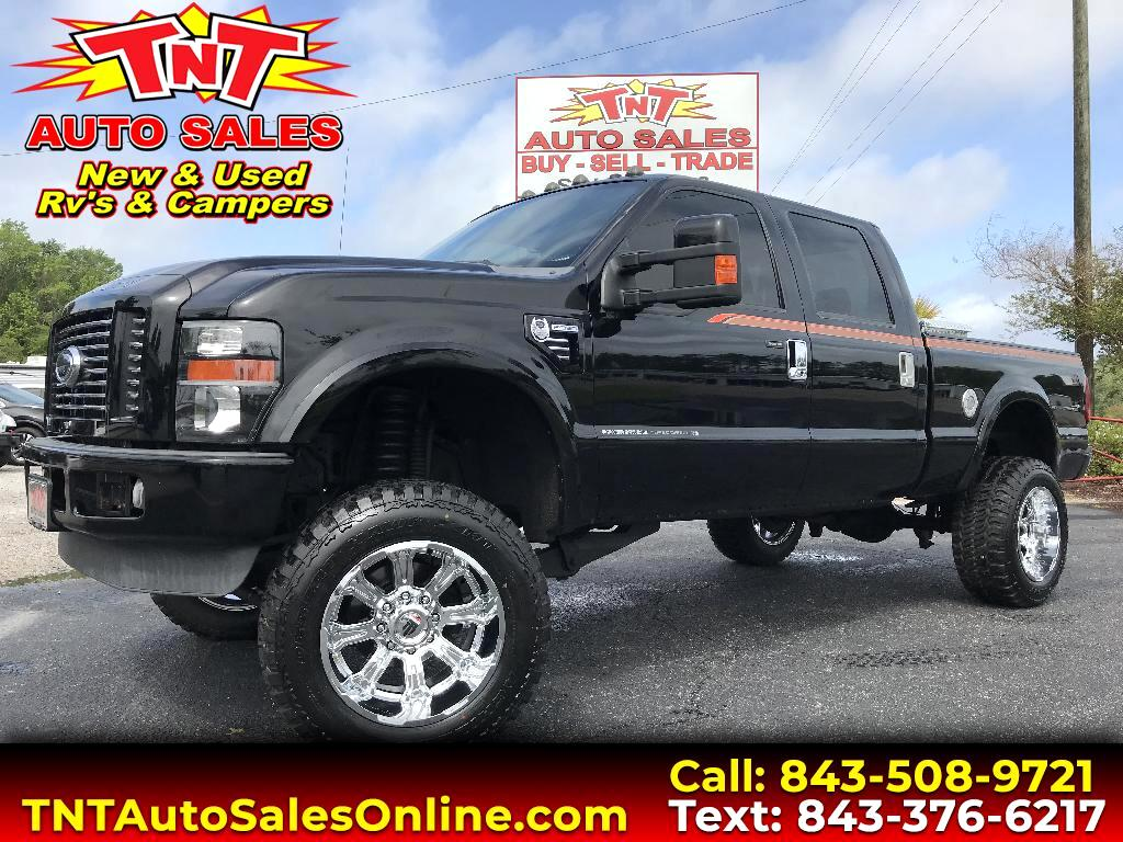 2008 Ford F-350 SD SRW Super Duty Harley Davidson