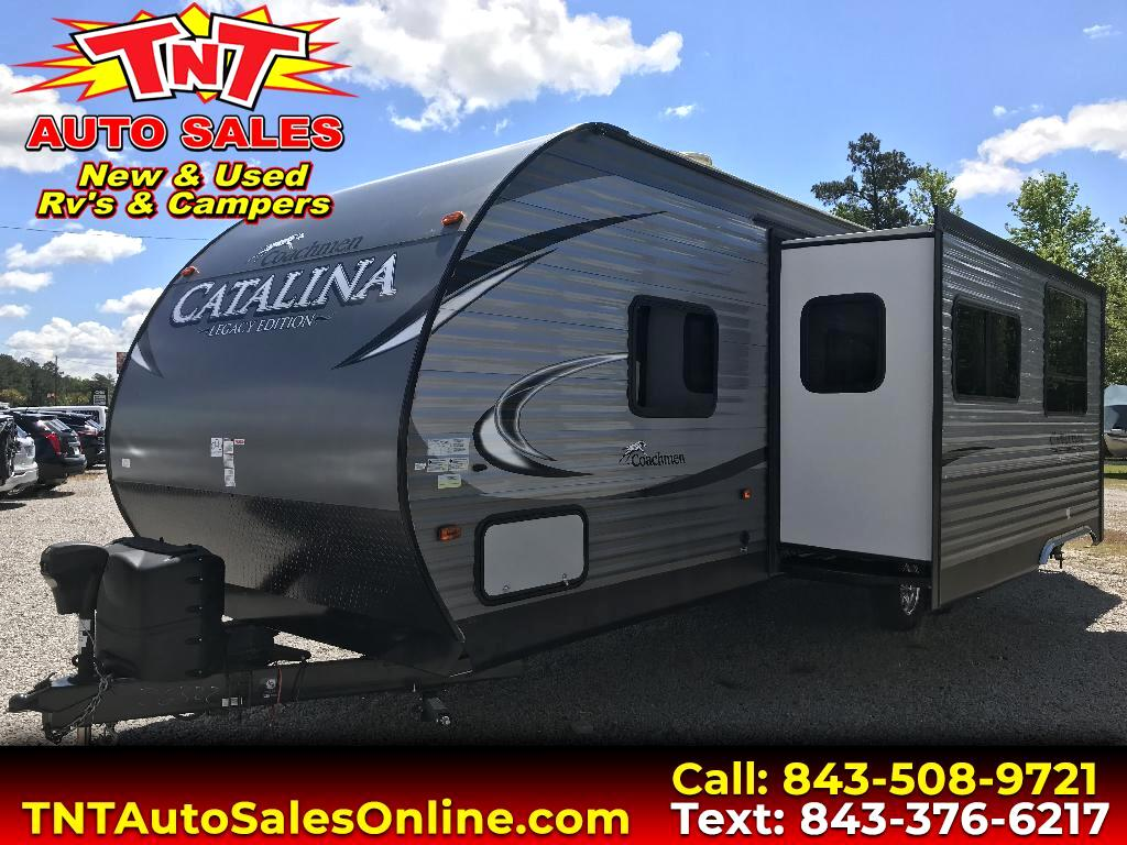 2017 Coachmen Catalina Legacy Edition 293QBCK