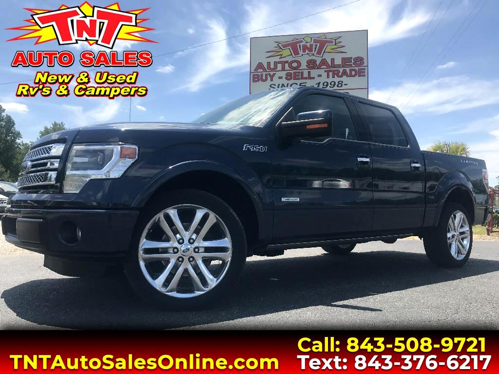 2014 Ford F-150 Limited 2WD SuperCrew 5.5' Box