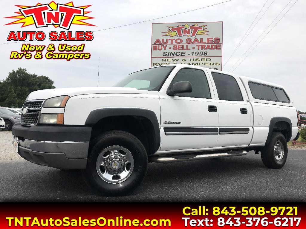 2005 Chevrolet Silverado 2500HD LT Crew Cab Short Bed 2WD