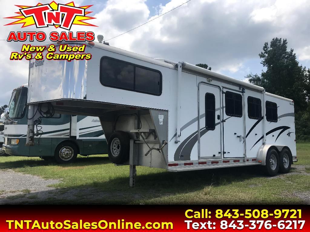 2005 Custom Camper Horse Trailer