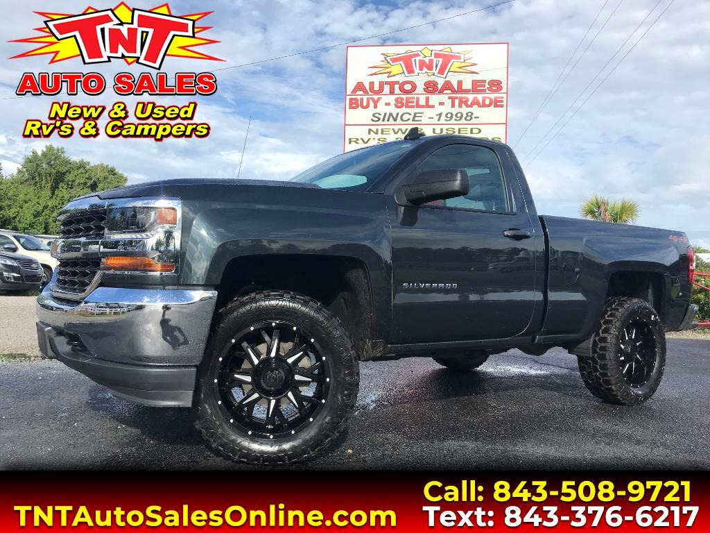 2017 Chevrolet Silverado 1500 Regular Cab 4WD
