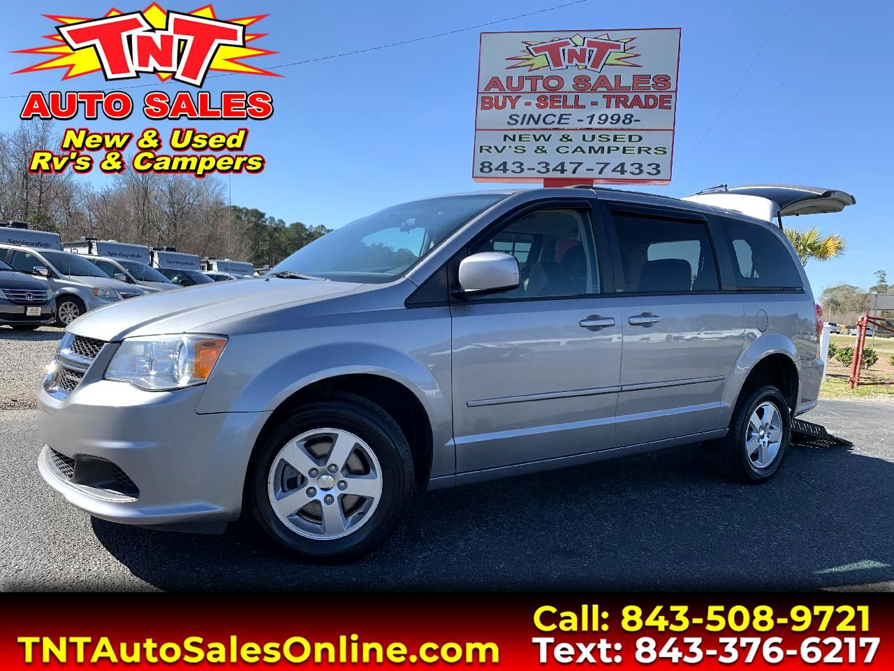 2013 Dodge Grand Caravan SXT Handicap Van