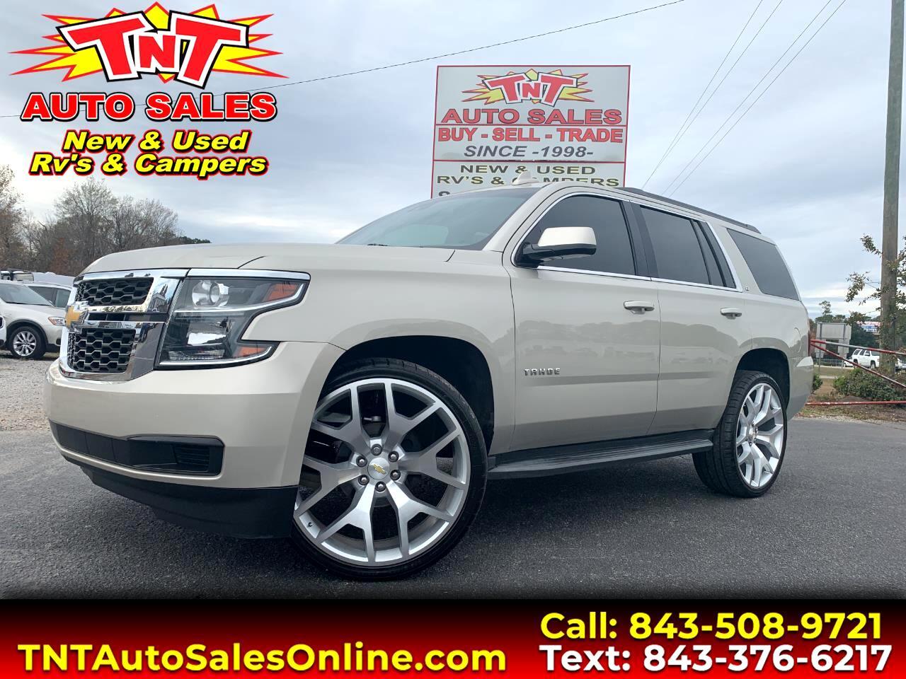 """2015 Chevrolet Tahoe LT w/ 26"""" Wheels"""