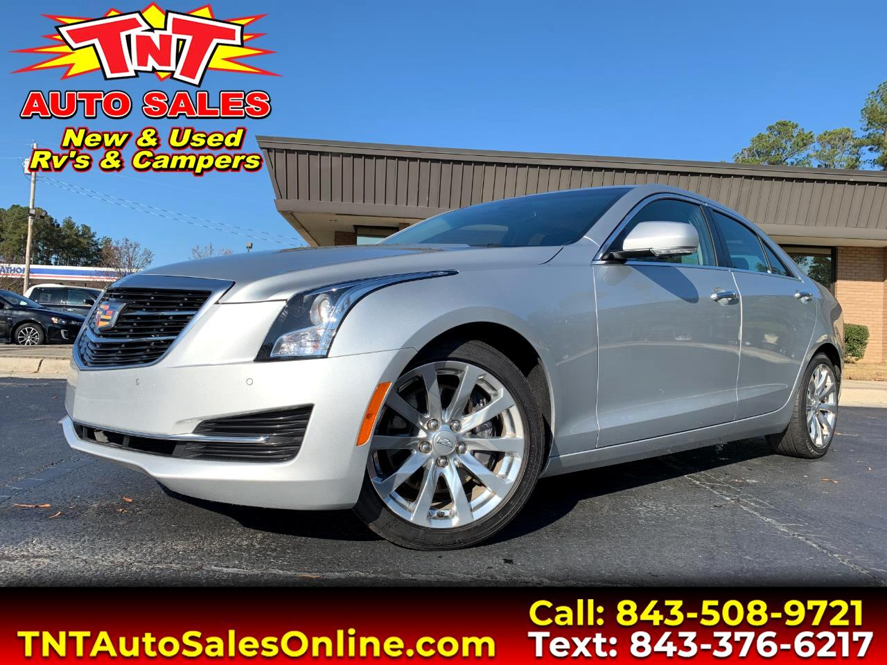 2018 Cadillac ATS 2.0L Luxury RWD
